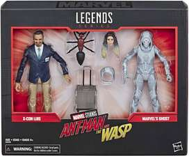 Hasbro Marvel Legends Series Antman and The Wasp - X-Con Luis y Marvel's Ghost Set
