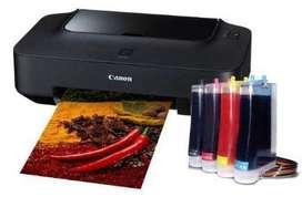 configuración y alistamiento de impresoras a domicilio