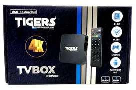 Tv Box Tigers con control remoto varios modelos para televisor