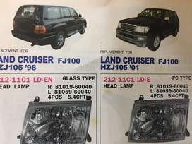 Lampara de land cruiser año '98 al 2001 HZJ105