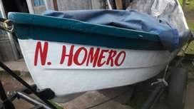 Bote Lagunero buen estado