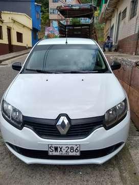 Renault logan servicio publico modelo 2018