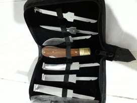 Kit de Cuchillas para herrador y limpieza de cascos