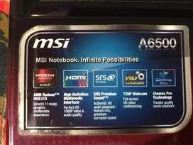 Vendo Notebook MSI (Rosario - Santa Fe)