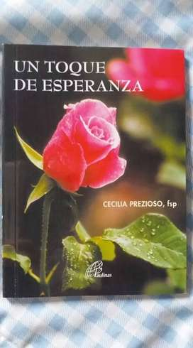 LIBRO UN TOQUE DE ESPERANZA CECILIA PREZIOSO ED. PAULINAS