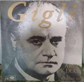 BENIAMINO GIGLI  ARIAS Y DUOS   VOLUMEN 1  LONG PLAY  VINILO