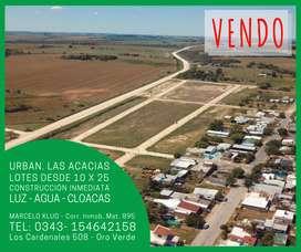LOTES EN ORO VERDE - Las Acacias