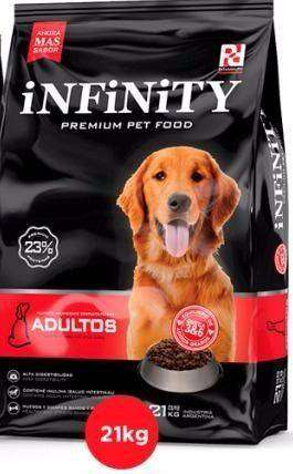 Alimento balanceado INFINITY PREMIUM X 21 KG.