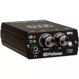 Sistema de monitoreo PreSonus HP2 cómo nuevo