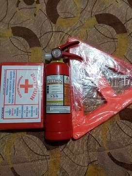 Kit extintor primeros auxilios