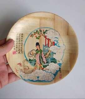 Plato de bambu para cocina