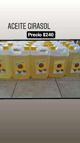 Vendo Aceite Girasol