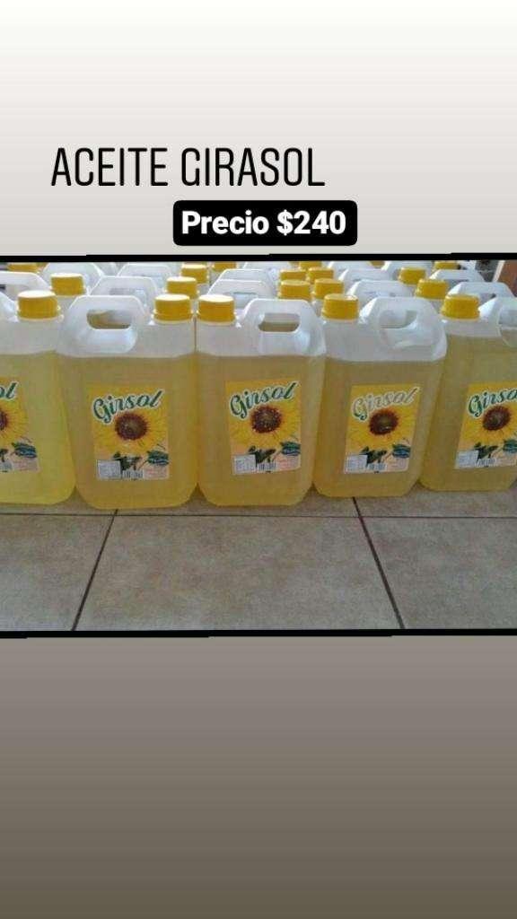 Vendo Aceite Girasol 0