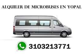 alquiler de microbuses en yopal