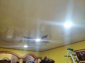 Instalaciones De Cielo Rasos En PVC