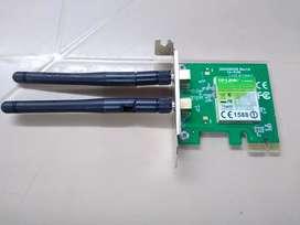 LOTE 30 UNIDADES DE TARGETAS DE RED TP- LINK  PCI EXPRESS  DE 300 BPS EN PERFECTO ESTADO