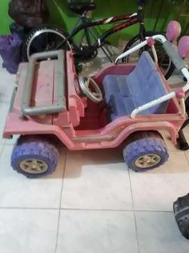 Carro de niña de pila recargable