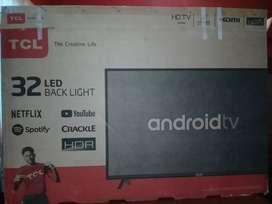 Tv . Tcl 32 pulgadas smart androi