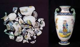 Arreglo, compostura, retoque, restauración de esculturas, adornos, antiguedades, imagenes religiosas