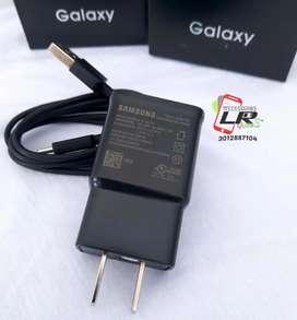 Cargador Samsung tipo C carga rápida original!!