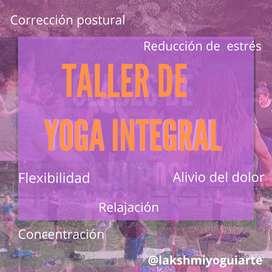 Clases de Yoga Integral particulares