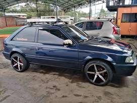 vendo o permuto    mazda 323 coupe           modelo : 1998