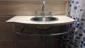 mesada con bacha para baño usada