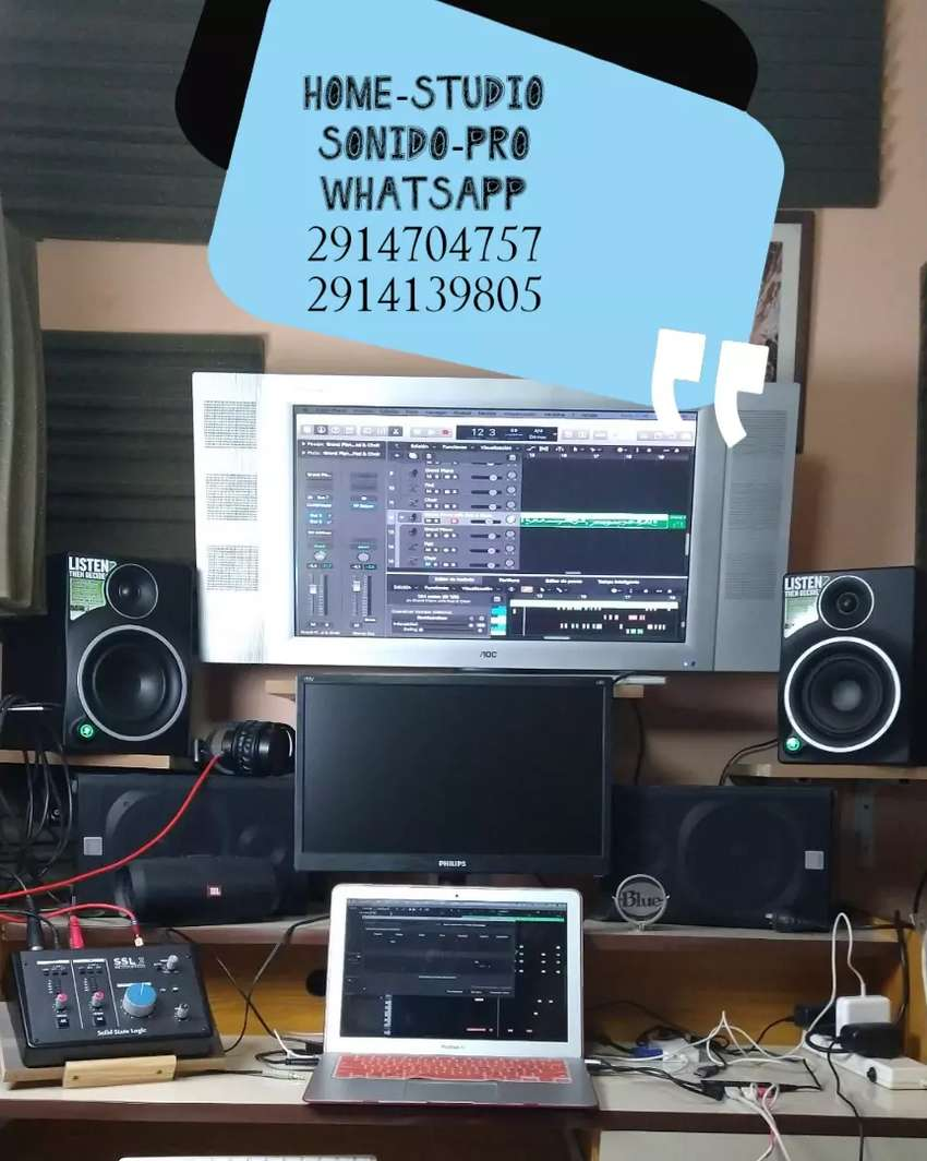 Home-studio para grabaciones ,sonido pro 0
