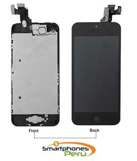 Reemplazo de Pantalla Telefono Iphone 5 | 5s | 5G | 5c | Blanca Negra | Smartphonesperu | Trujillo