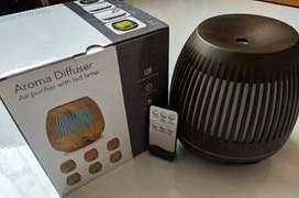 Humidificador Difusor Aromas Bambu + Control + Obsequio