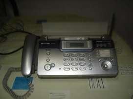 Fax Panasonic Papel Termico Kxfc972ag Excelente Estado!!!
