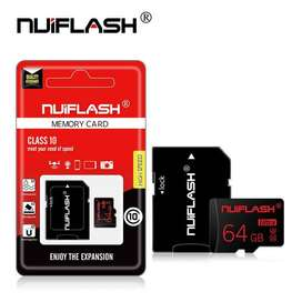 Memoria Micro SD 64gb + Adaptador SD