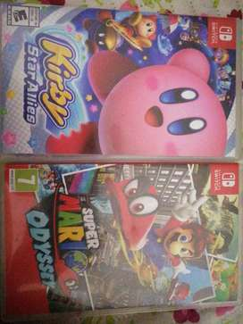 Kirby y Mario odyseei