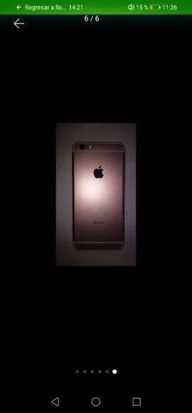 Celular 6s color oro rosa