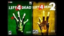 Left 4 dead Bundle viene el 1 y 2 Juego Pc Original