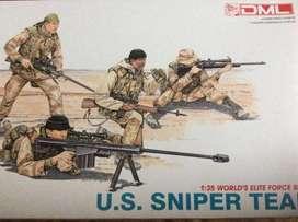 DML 1/35 U.S. SNIPER TEAM