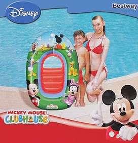 Flotador Infantil Piscina Disney Bote Entrega Inmediata