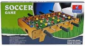 Grandioso futbolín de mesa