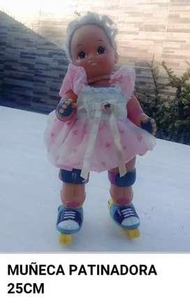 Muñeca patinadora