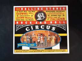 Rolling Stones Rock And Roll Circus Box Cd + Libro