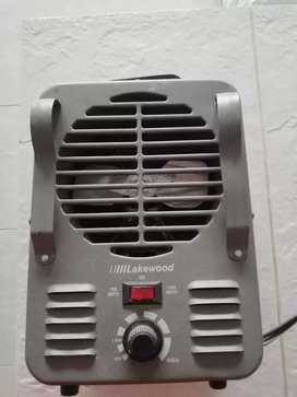 Calentador de aire marca lakewood