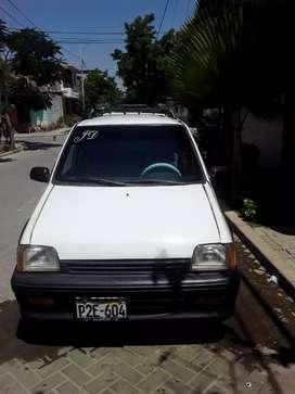 Vendo auto Daewoo Tico blanco de ocasión