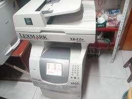 Multifuncional Lexmark X642e B/n Copia,imprime Y Escanea