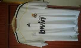 Camiseta Real Madrid 2009 - 2010 Edicion Estadio Santiago Bernabeu XL