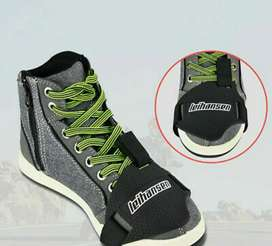 Protector de calzado para motociclista, evita dañar tus zapatos o tenis
