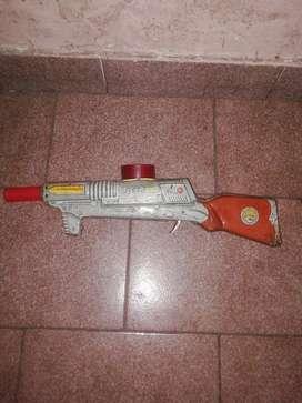 Ametralladora de Chapa Antigua Gatillo