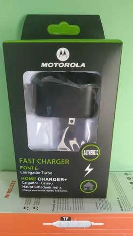 Cargador Original Motorola Turbo Power
