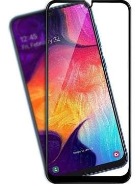 Glass Vidrio Templado Full Cover Samsung A30 A50