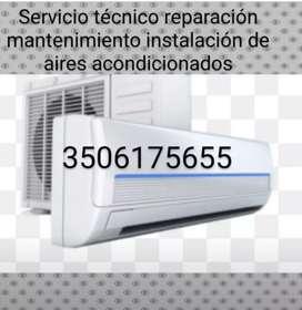 Aires acondicionados doméstico e industrial mantenimiento reparación instalación