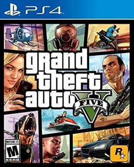 Gta 5 Grand Theft Auto 5 Playstation 4 Ps4, Físico